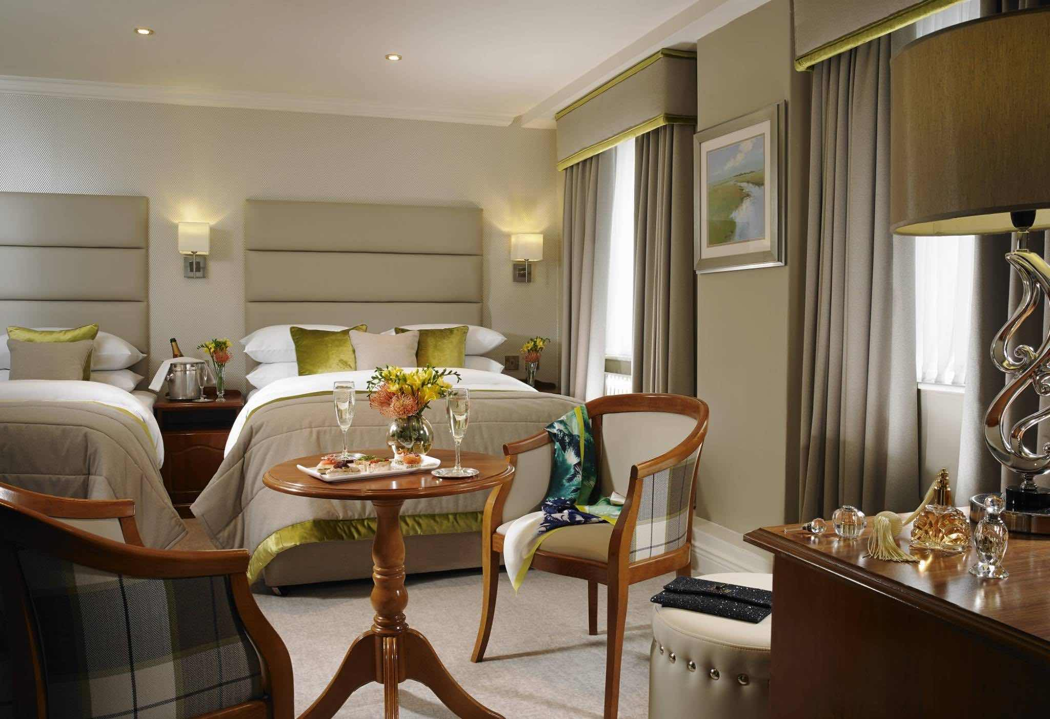 buswells_hotel_triple_room boutique hotels in Dublin