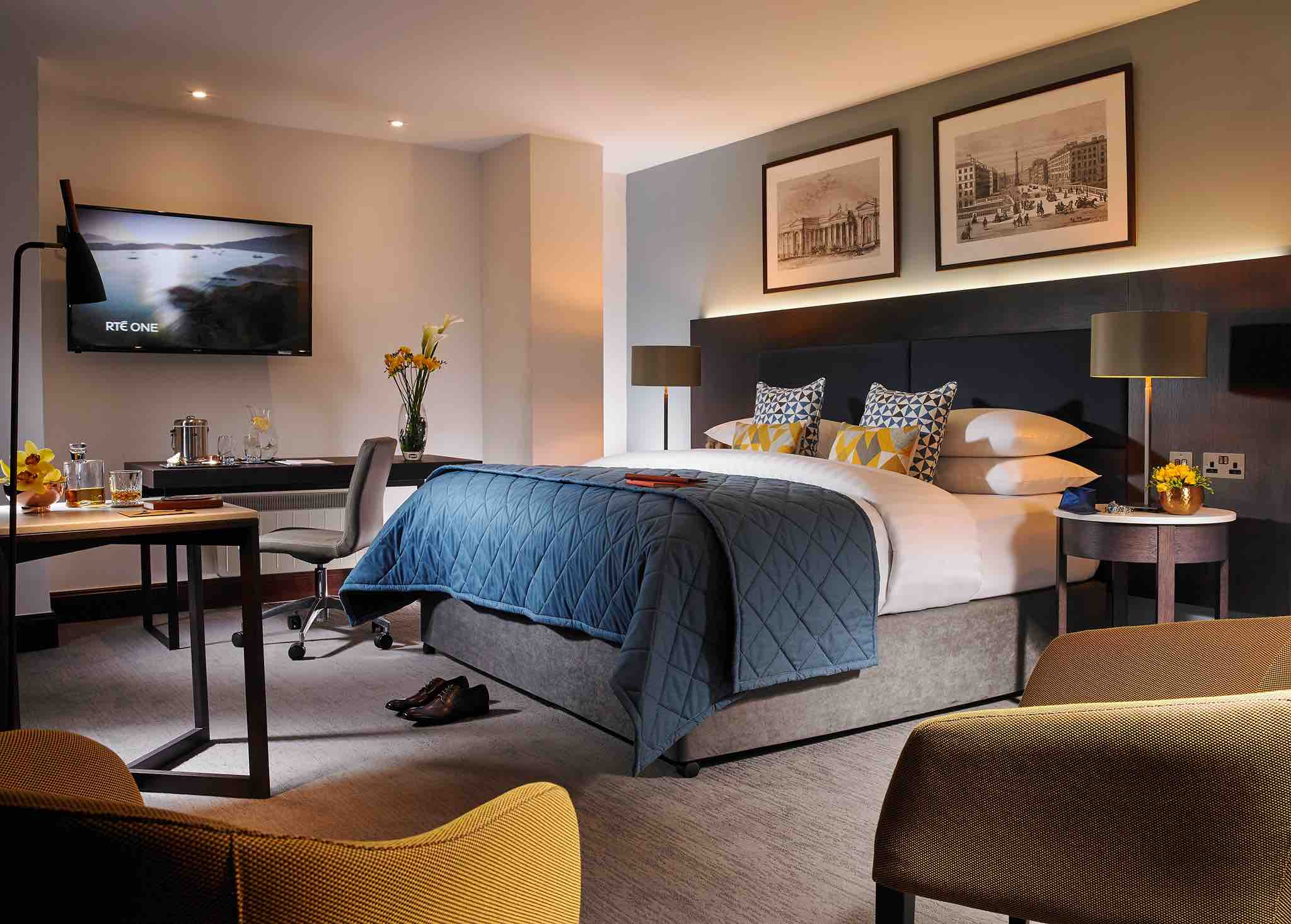 Temple Bar Hotel bedroom