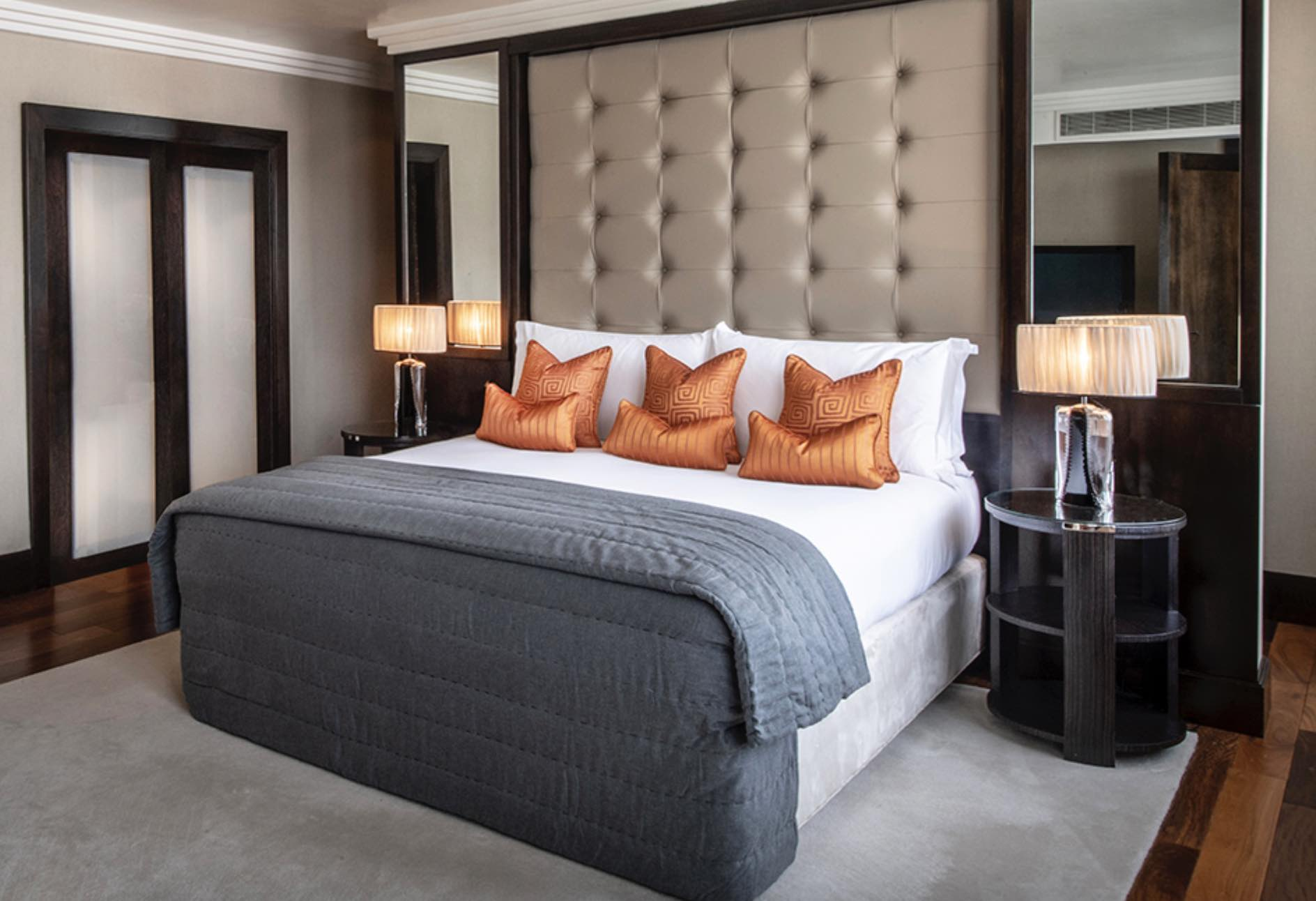 The Westbury king bed suite of luxury hotels in Dublin