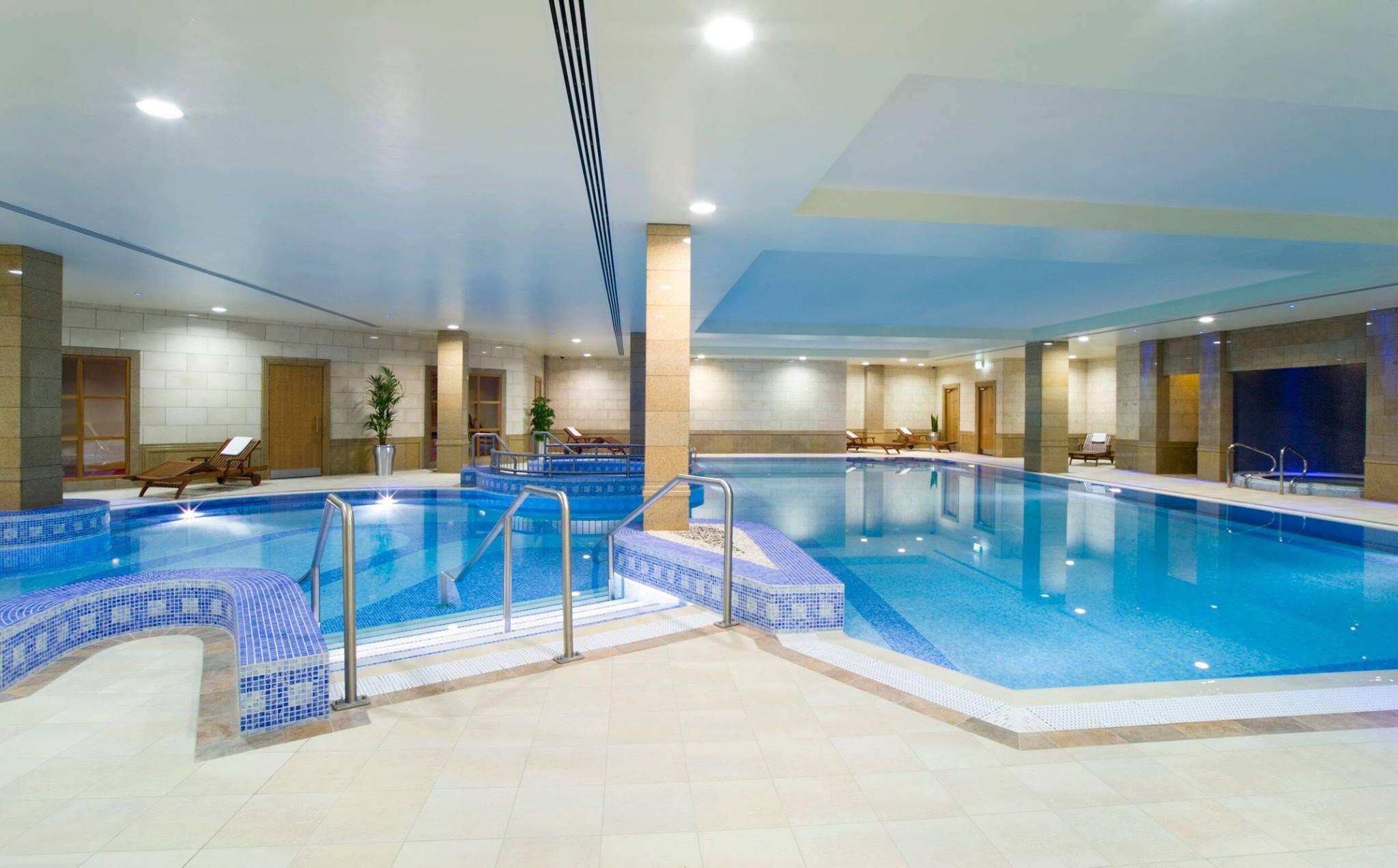 Bonnington Dublin Hotel indoor pool in luxury dublin hotel spas area