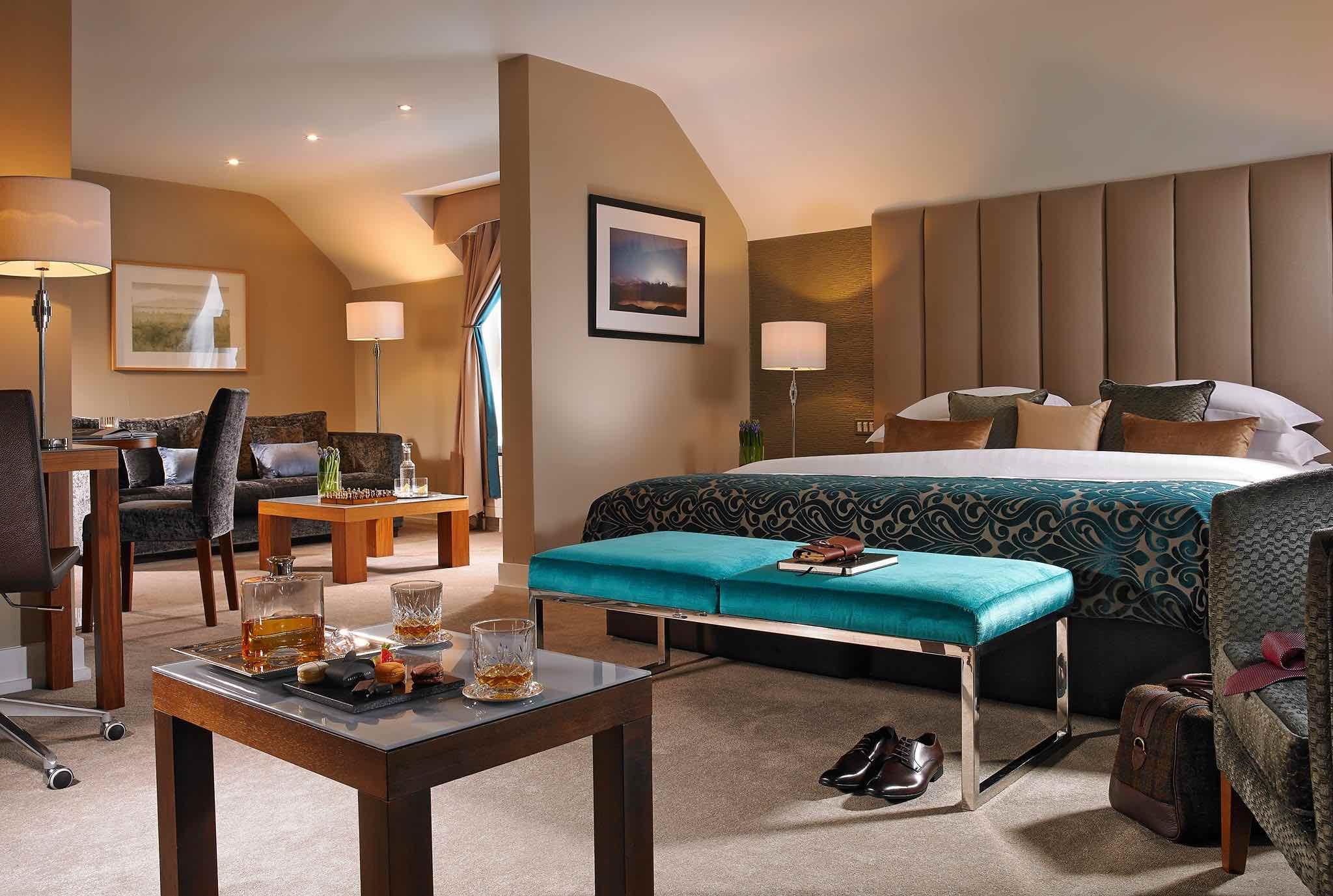Castleknock Hotel luxury suite of luxury Dublin hotel spas interior