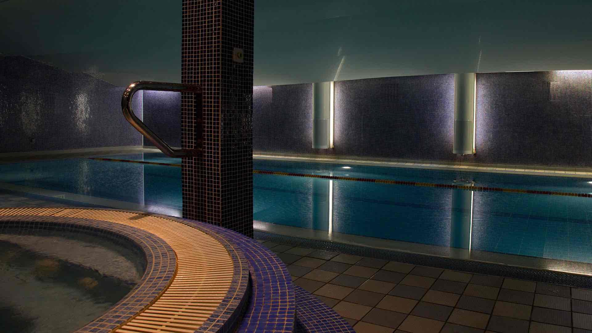 spencer spa -gym-jacuzzi luxury dublin hotel spas interior